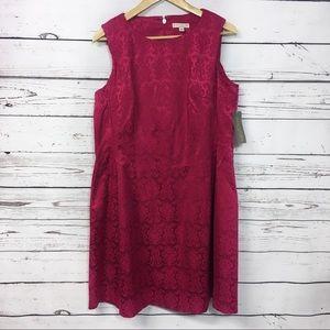 New York & Co. | Eva Mendes | fuchsia dress | NEW